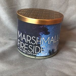 Bath and Body Works MARSHMALLOW FIRESIDE 3-wick